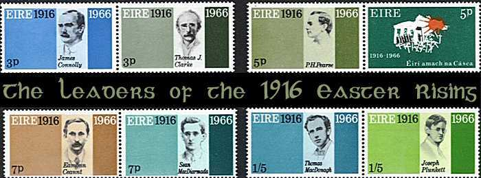 1916 Easter Rising stamps