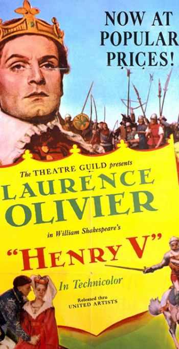 Henry V was filmed in Wicklow