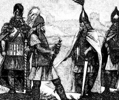 Irish Gaels and Chieftains