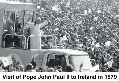 Visit of Pope John Paul II to Ireland in 1979