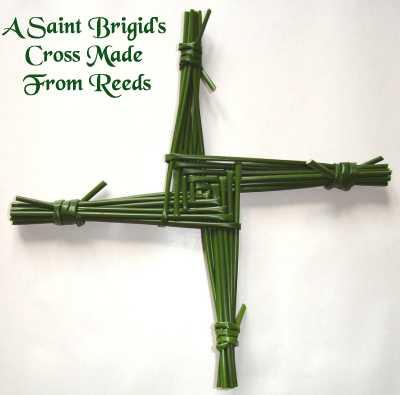 A Saint Brigid's Cross