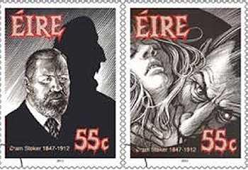 Bram Stoker Stamps