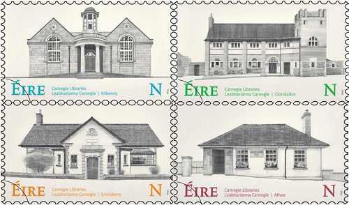 Carnegie Library Irish Stamps