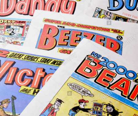 Comics: Beano, Dandy