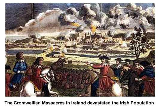 The Cromwellian Massacres in Ireland