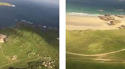 Views of the Approach to Donegal Airport