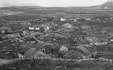 A Famine Village