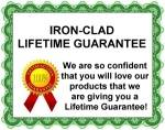 100% Iron-Clad Guarantee!