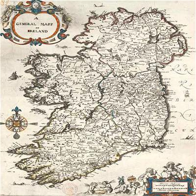 Map Of Ireland Kerry Region.Ireland Maps Free And Dublin Cork Galway