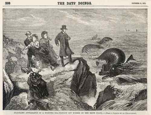 Irish Sea and Lake Monsters