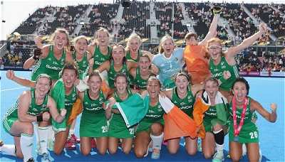 Irish Women's Hockey Team