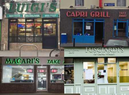 Italian Chippers in Ireland