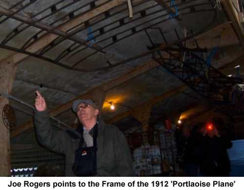 Joe Rogers - Portlaoise Plane