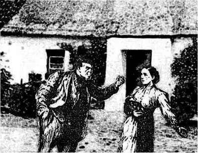 Man Fighting Woman
