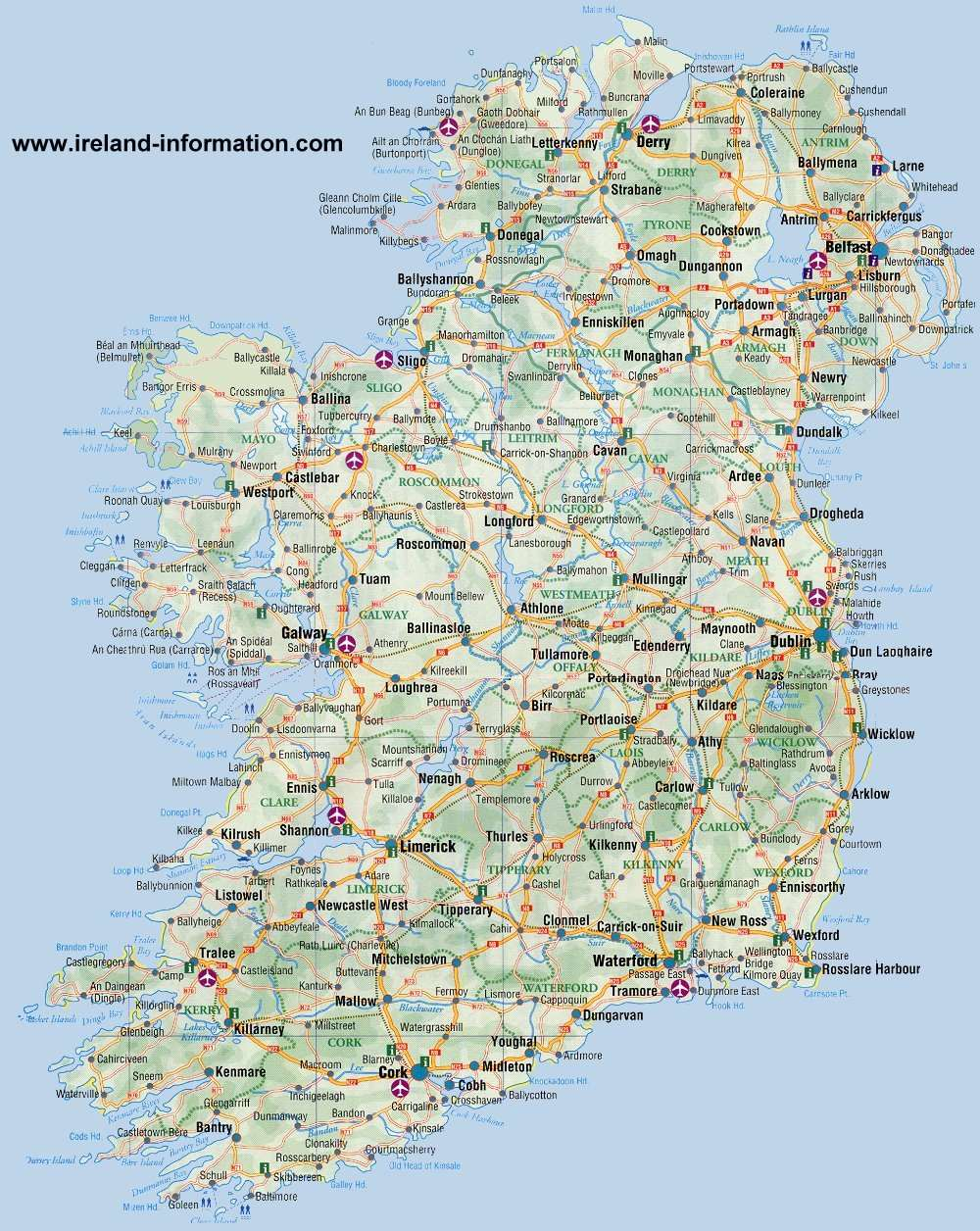 Most Popular Tourist Attractions in Ireland Free & Paid Attractions