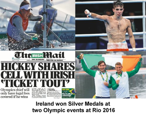 Irish at the Olympics