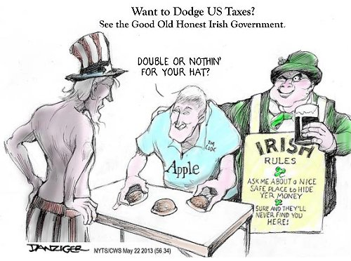 Apple, Ireland and the EC in tax battle