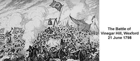 The Battle of Vinegar Hill, 1798