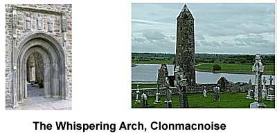 The Whispering Arch at Clonmacnoise