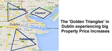 Property Prices Rising in Parts of Dublin