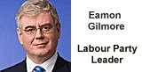 Eamon Gilmore is the Labour Party leader