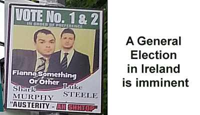 Election Poster in Ireland