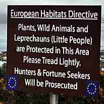Funny Irish Sign