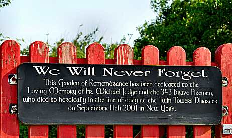 The Garden of Remembrance in Kinsale