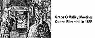 Grace O'Malley Meeting Queen Elizabeth I