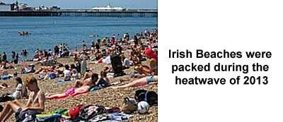 Heatwave in Ireland, 2013