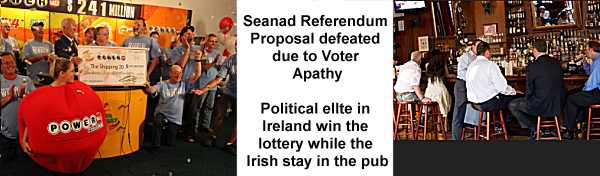 Seanad Referendum Result in Ireland