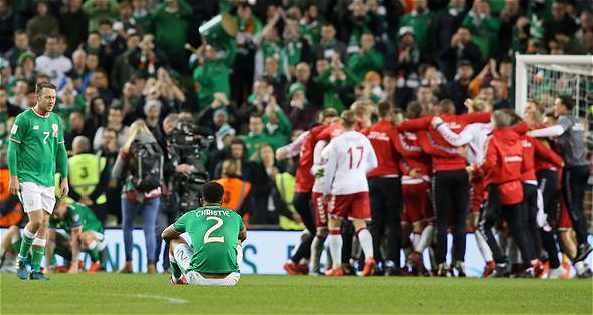 Ireland 1 Denmark 5