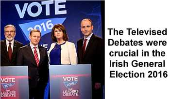 Televised Debate in Irish General Election 2016