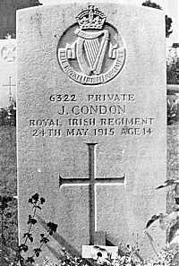 John Condon - the Boy Soldier