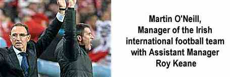 Irish Football Team Managers