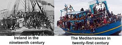 Modern day refugees