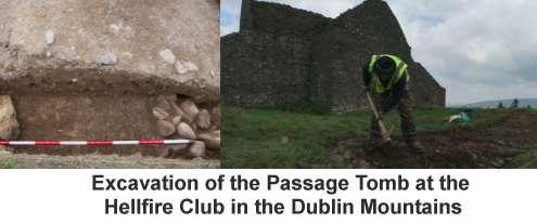 Passage Tomb at the Hellfire Club, Dublin