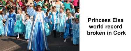 Princess Elsa World Record 2015