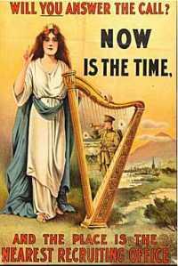 First World War Recruiting Poster from Ireland