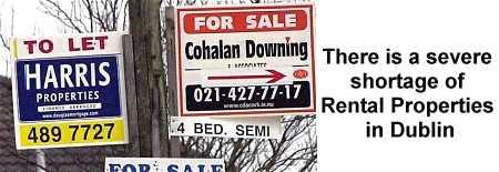 Shortage of Rental Properties in Dublin