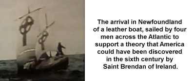 Saint Brendan Voyage