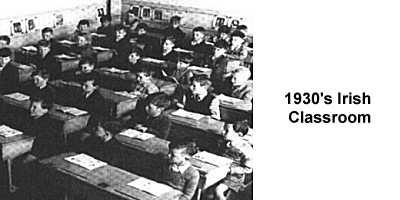 1930'S Irish Classroom