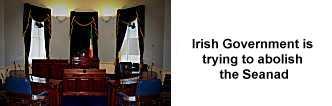 Irish Seanad House may be abolished