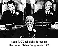Sean T. O'Ceallaigh at the US Congress