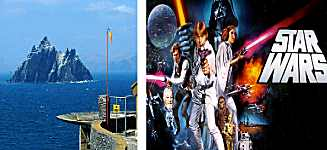 Star Wars on Skellig Island