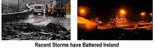 Storms in Ireland