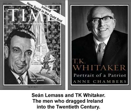 Sean Lemass and TK Whitaker