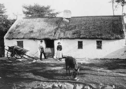 Old Irish Farmhouse