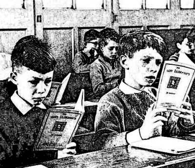 Old Irish Schoolroom