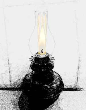Paraffin Oil Lamp